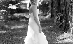The bride in black and white. MJ Photography (Wedding and Event).