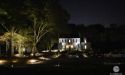 A magical view of the Robertson House at nightfall. Picture courtesy of 45 Parallel Consulting LLC.